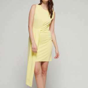 Bar 111 Sleeveless Asymmetrical Drape Dress